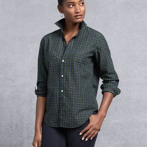 Frank and Eileen Frank Classic Plaid Poplin Top